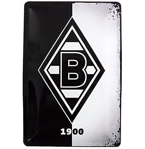 VFL Borussia Mönchengladbach Blechschild Raute
