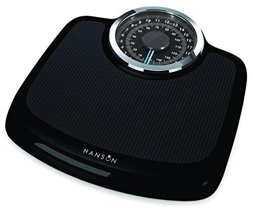 Hanson Neo Black Mechanical Bathroom Scale by Terraillon