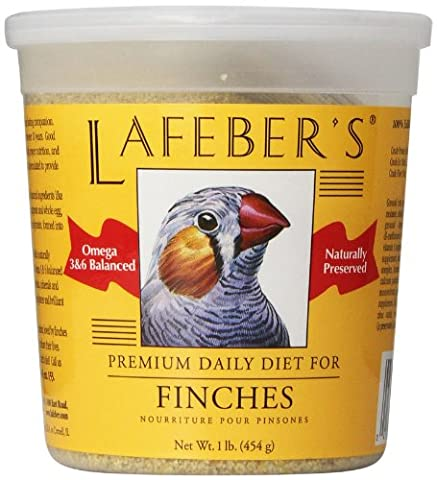 Lafeber Premium Diet Finch Granules Finch Healthy Life Natural Ingredients