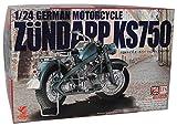 Asuka Zündapp KS750 Kit Bausatz 1/24 Modell Motorrad mit individiuellem Wunschkennzeichen