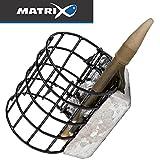 Fox Matrix In-Line Cage Feeder - Feederkorb zum Feederangeln, Futterkorb zum Feedern, Feederkörbe zum Friedfischangeln, Größe/Gewicht:Medium / 40g