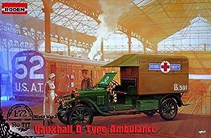 Roden 717Maqueta de Vauxhall D Type Red Cross, Juego