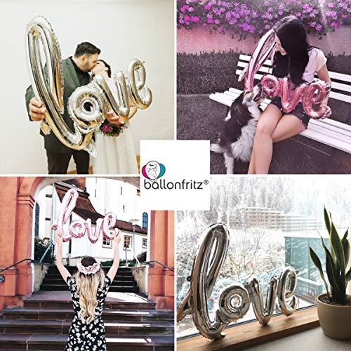 "XXL Folienballon ""LOVE"" roségold - 4"