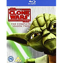 Star Wars: The Clone Wars - The Complete Season Two [Blu-ray] [2010]