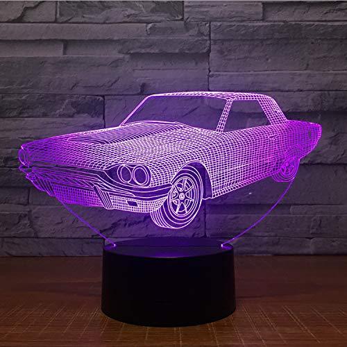 Nachtlicht Altes Auto Modell LED 3D Lampe Usb Illusion Bunte Schreibtisch Tischlampe Kinder BedroomHome Atmosphäre Lampe Drop Shipping16x20cm 6600 Usb