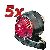 5x HELLA Original Lichtscheibe, Begrenzungsleuchte 9EL 950 315-061