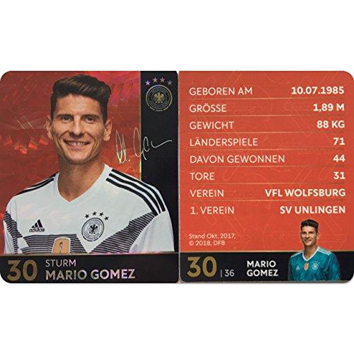 sland - Glitzer Einzelkarten Sammelkarten Komplettset (GLITZER KARTE NUMMER 30 - MARIO GOMEZ) ()