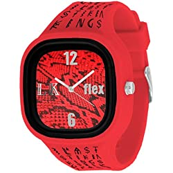 Flexwatches Last Kings Red Snake Skin