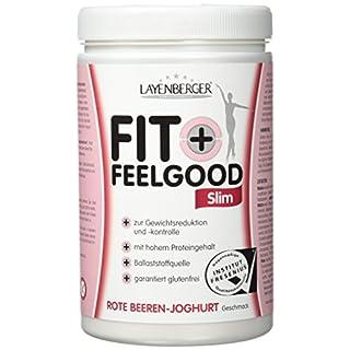 Layenberger Fit+Feelgood Slim Mahlzeitersatz Rote Beeren-Joghurt, 1er Pack (1 x 430 g)