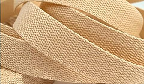 3 Meter Gurtband/Taschengurt 30mm in natur