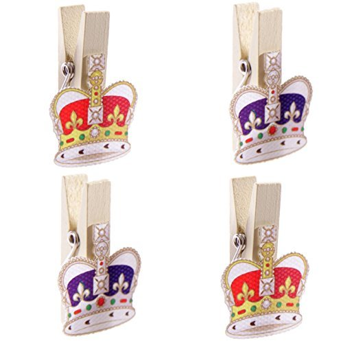 4-funky-royal-majestic-crown-design-decorative-pegs-craft-card-gift-novelty-by-concept4u