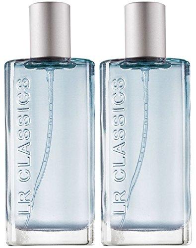 LR Classics Stockholm Lot de 2 eaux de parfum pour homme (2 x 50 ml)