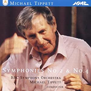 Tippett : Symphonies n° 2 & 4