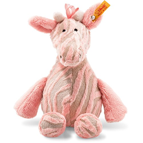 Steiff 240393 Soft Cuddly Friends Giselle Bell Giraffe Plüsch rose 25 CM