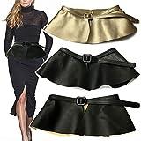 Maybesky Frauen einziehbarer Gürtel Kleid Pullover Zubehör Wide Elastic Taille Kleid Gürtel