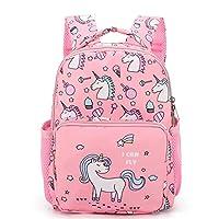 Baby Girls School Bag Princess Backpack,Toddler Rucksack Kids Daypack Dancing Bag Satchel Nursery Shoulder Bags Changing Bag, Best Gift for 1-6 Years Old-Rose