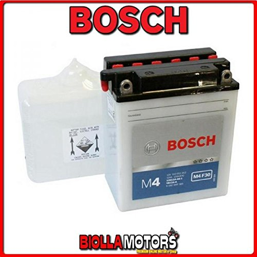 0092M4F300 BATTERIA BOSCH YB12A-A CON ACIDO YB12AA MOTO SCOOTER QUAD CROSS