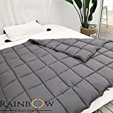 Rainbow Cool Stuff Weighted Blanket For Adults - Comforting And Calming Weighted Blanket