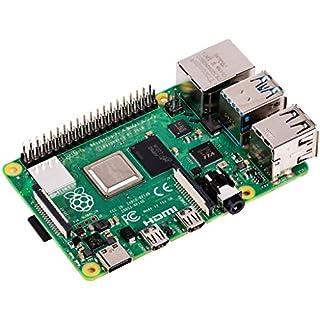 Raspberry Pi 4 Modell B 4GB ARM-Cortex-A72 4X 1,50GHz, 4GB RAM, WLAN-ac, Bluetooth 5, LAN, 4X USB, 2X Micro-HDMI