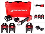 Rothenberger 1000001924–Romax 4000Set SV15–22–28mm 4Ah. EU