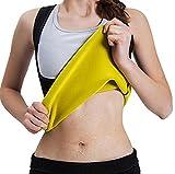 Ibelive Frauen Abnehmen Body Shaper für Frauen Bauch Gewichtsverlust Hot Thermo Neopren Sweat Sauna Weste No Zipper Schwarz