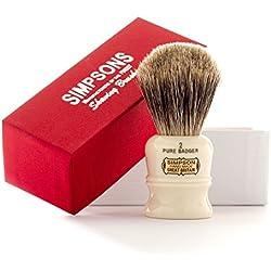 Simpsons Duke D2 Pure Badger Hair Shaving Brush