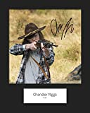 Chandler Riggs # 3 Photo encadrée signée 10 x 8 d'impression