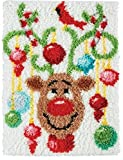 Knüpfkissen Latch Hook Kit 50cm Length Rug Christmas373