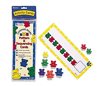Learning Resources - Compare Bears Pattern Cards by Learning Resources