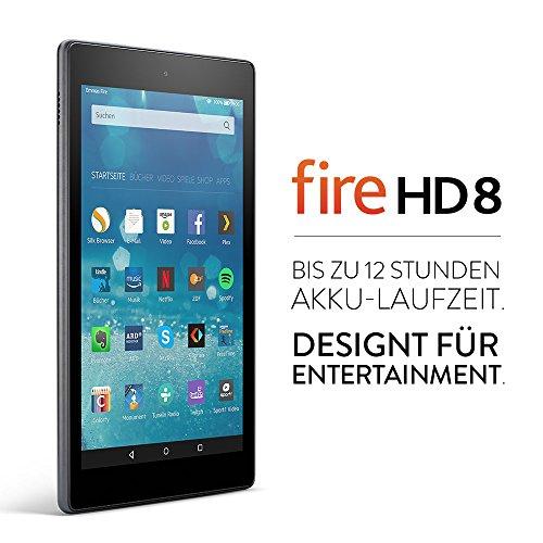 Fire HD 8-Tablet, 20,3 cm (8 Zoll) HD Display, WLAN, 16 GB (Schwarz) - mit Spezialangeboten - 2