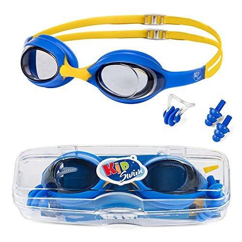 KidSwim - Gafas natación niños Edad 4 - 12, sin