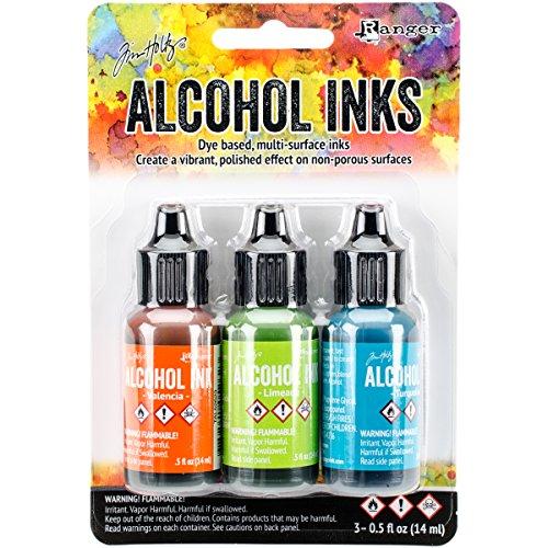"""Tim Holtz Ranger Alcohol Ink Set """"Spring Break"""""""
