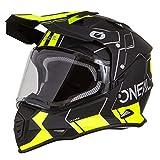 O'Neal Sierra II Comb Motocross Motorrad Helm MX Enduro Trail Quad Cross Offroad Gelände, 0817,...