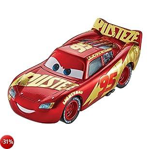 Disney Cars 3 DXV45 Veicolo Saetta McQueen Centro Corse Rust Eze