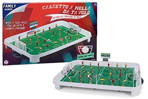 Family Games 36951 - Calcetto da Tavolo a Molla