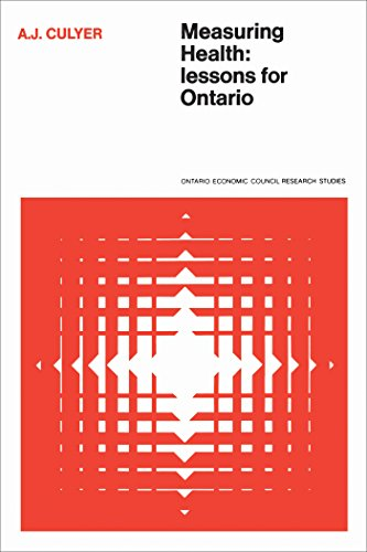 Measuring Health: Lessons for Ontario (Heritage Book 14) (English Edition) por Anthony, J. Culyer