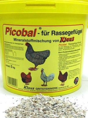 Klaus Geflügel Mineral, Eimer, 5 kg