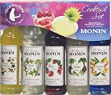 Product Image of Monin Cocktail Syrup Gift Set 5x5cl