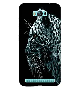 ColourCraft Tiger Look Design Back Case Cover for ASUS ZENFONE MAX ZC550KL (2016)