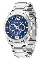 INTELIHANCE. 13934JS/03M - Reloj de cuarzo para hombre, con correa de acero inoxidable, color plateado de INTELIHANCE.