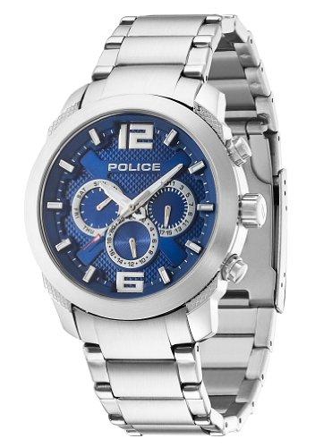 Police Herren-Armbanduhr Analog Quarz PL.13934JS/03M