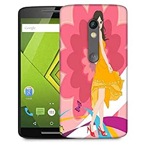 Snoogg Urban Girl 2825 Designer Protective Phone Back Case Cover For Moto G 3rd Generation