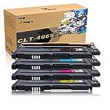 7Magic CLT-406 Toner Kompatibel für Samsung CLT-P406C/CLT-406S/CLT-K406S CLT-C406S CLT-M406S CLT-Y406S für Samsung Xpress CLP-360 CLP-360ND CLP-365W SL-C460W C410W CLP-368 CLX-3305 CLX-3300 Drucker