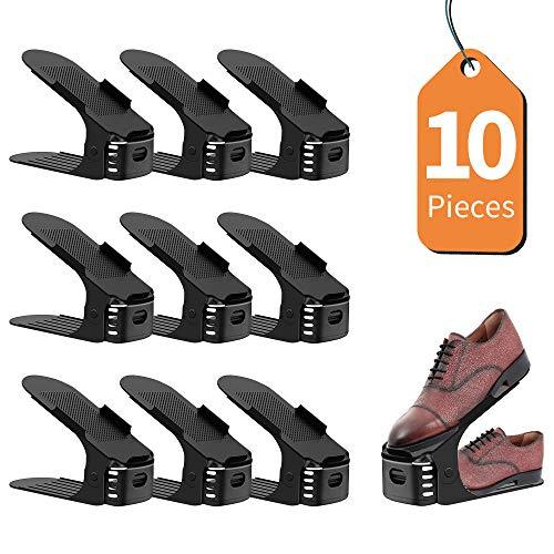 LENTIA Set 10pcs Organizadores Ajustables Zapatos