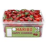 HARIBO HAPPY CHERRIES - CHERRY FLAVOURED SWEETS - FULL TUB