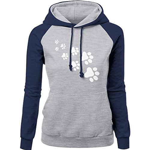 WTUS - Hooded Sweatshirt - Sweat-shirt à capuche - Femme Bleu
