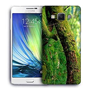 Snoogg Green Tree Printed Protective Phone Back Case Cover For Samsung Galaxy A7