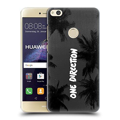Head Case Designs Offizielle One Direction Vertikale Text Kokos Logo Horizontal Harte Rueckseiten Huelle kompatibel mit Huawei P8 Lite (2017)