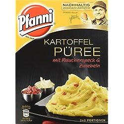 Pfanni Kartoffelpüree mit Räucherspeck & Zwiebeln 2x2 Portionen, (10x150g)