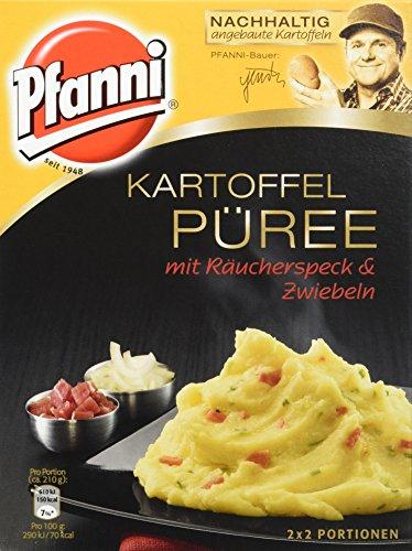 Pfanni Kartoffelpüree mit Räucherspeck & Zwiebeln 2×2 Portionen